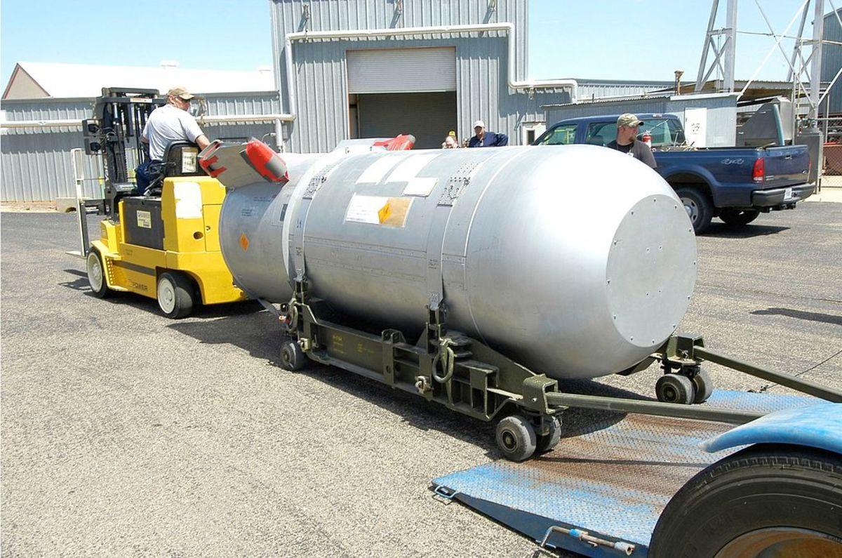 B53 Nuclear Bomb.