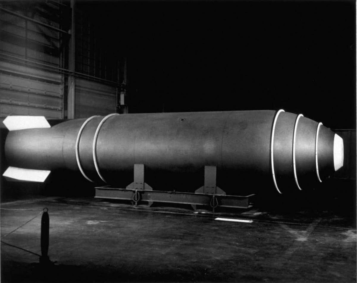 Mk-17 Nuclear Bomb (Mark 17).