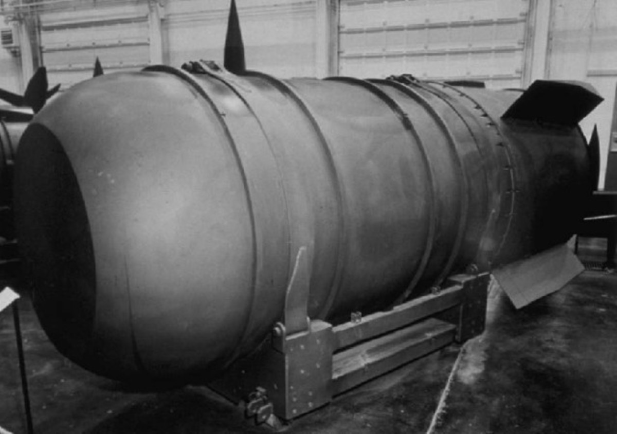 Mk-36 Nuclear Bomb (Mark 36).