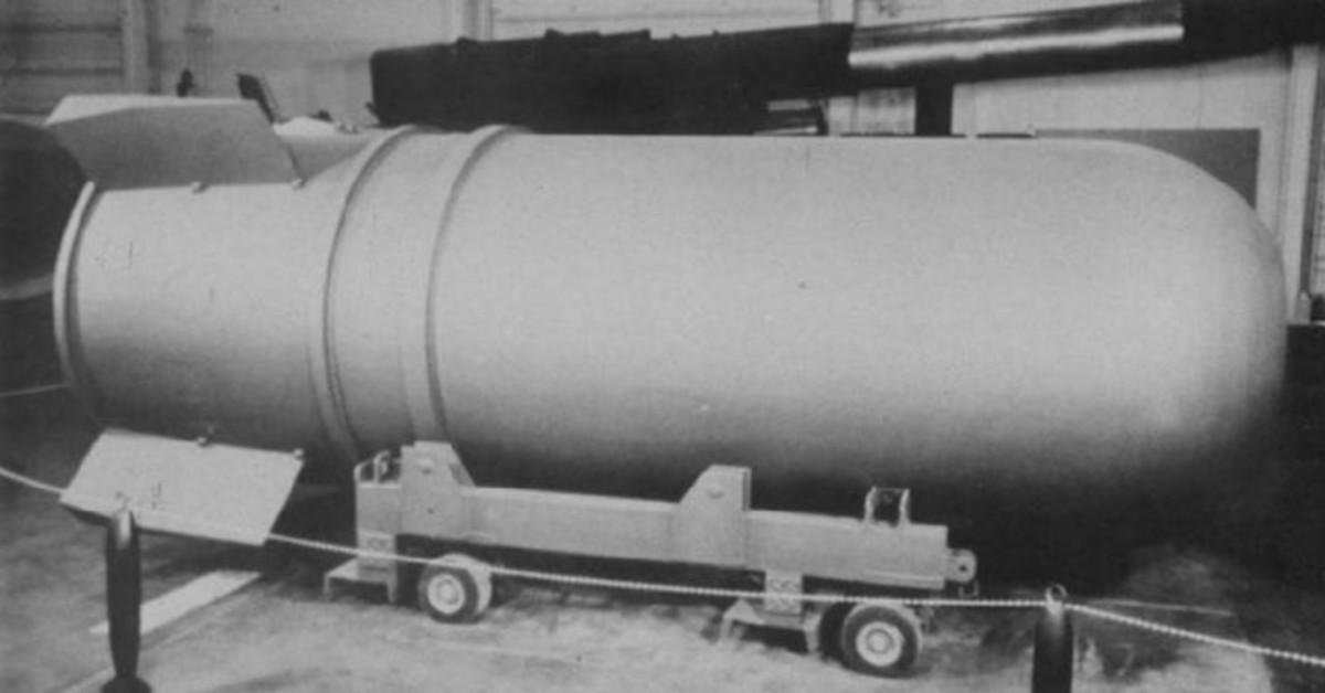 B41 Nuclear Bomb.