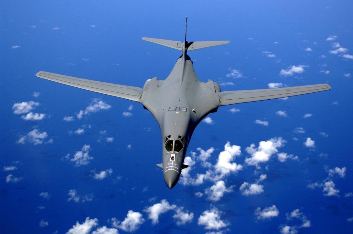 The B-1 bomber.