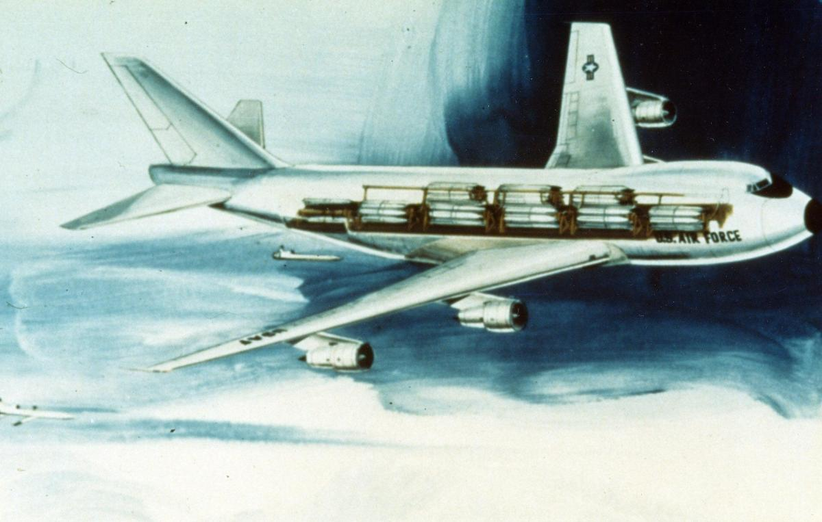 The proposed Cruise Missile Carrier Aircraft.