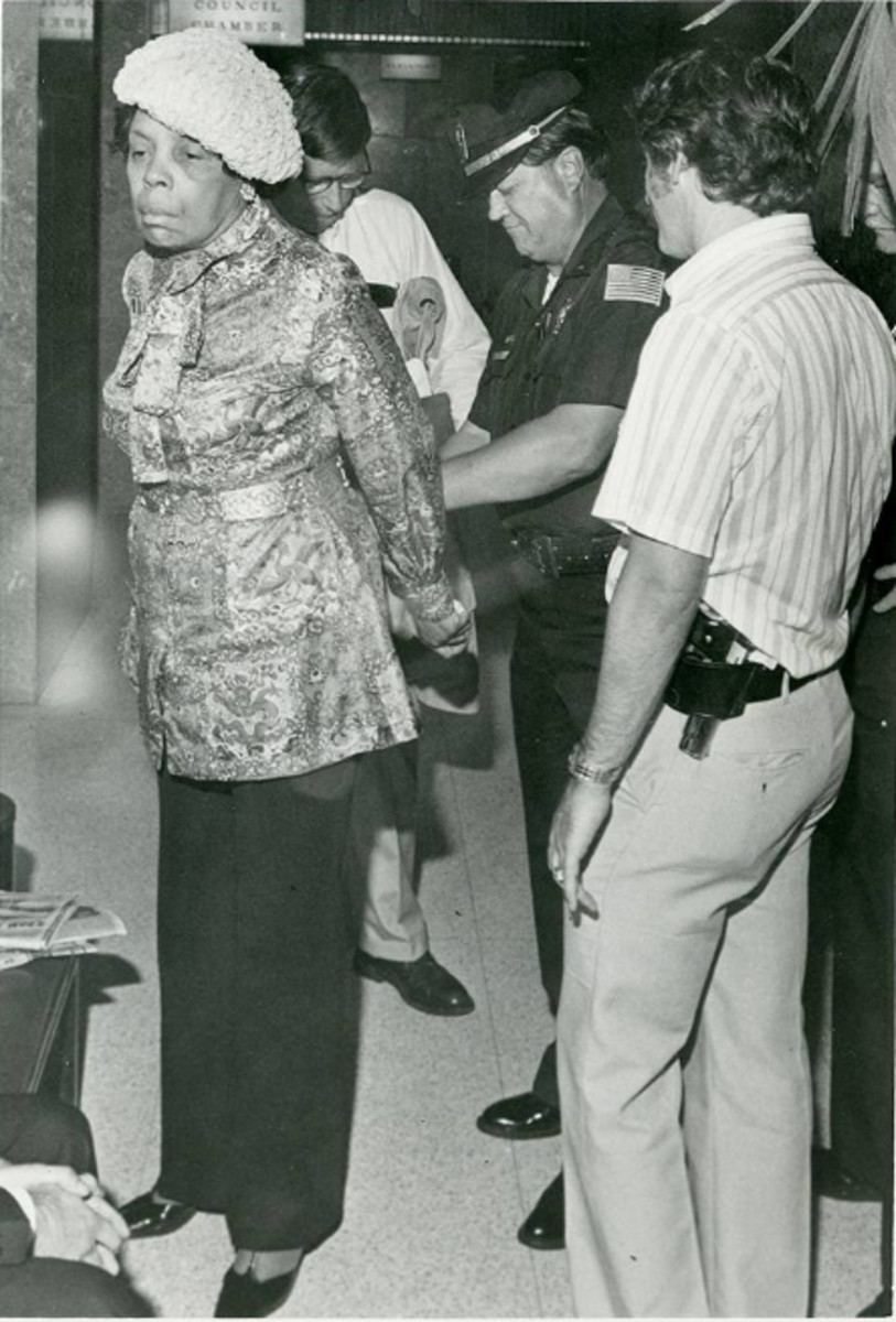 In 1980 Cornelia Crenshaw was arrested for protesting at a Memphis City Council meeting.  She was protesting the deaths of two church members who passed away as a result of a heat wave.