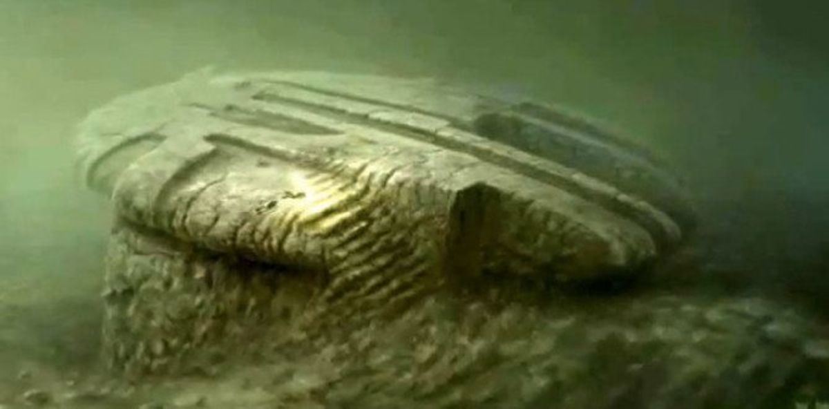 A 3-d rendering of the supposed Baltic Sea Anomaly