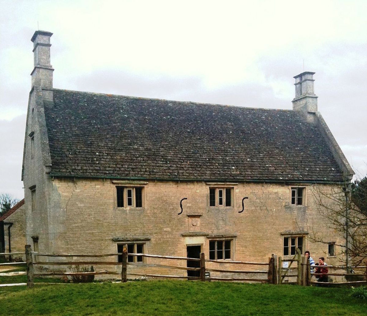 Newton's childhood home in Woolsthrope, Lincolnshire, England.