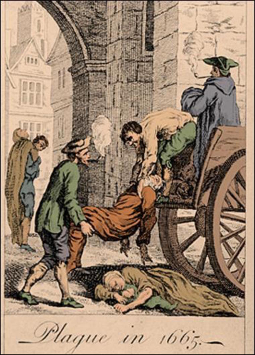 The great plague of 1665.