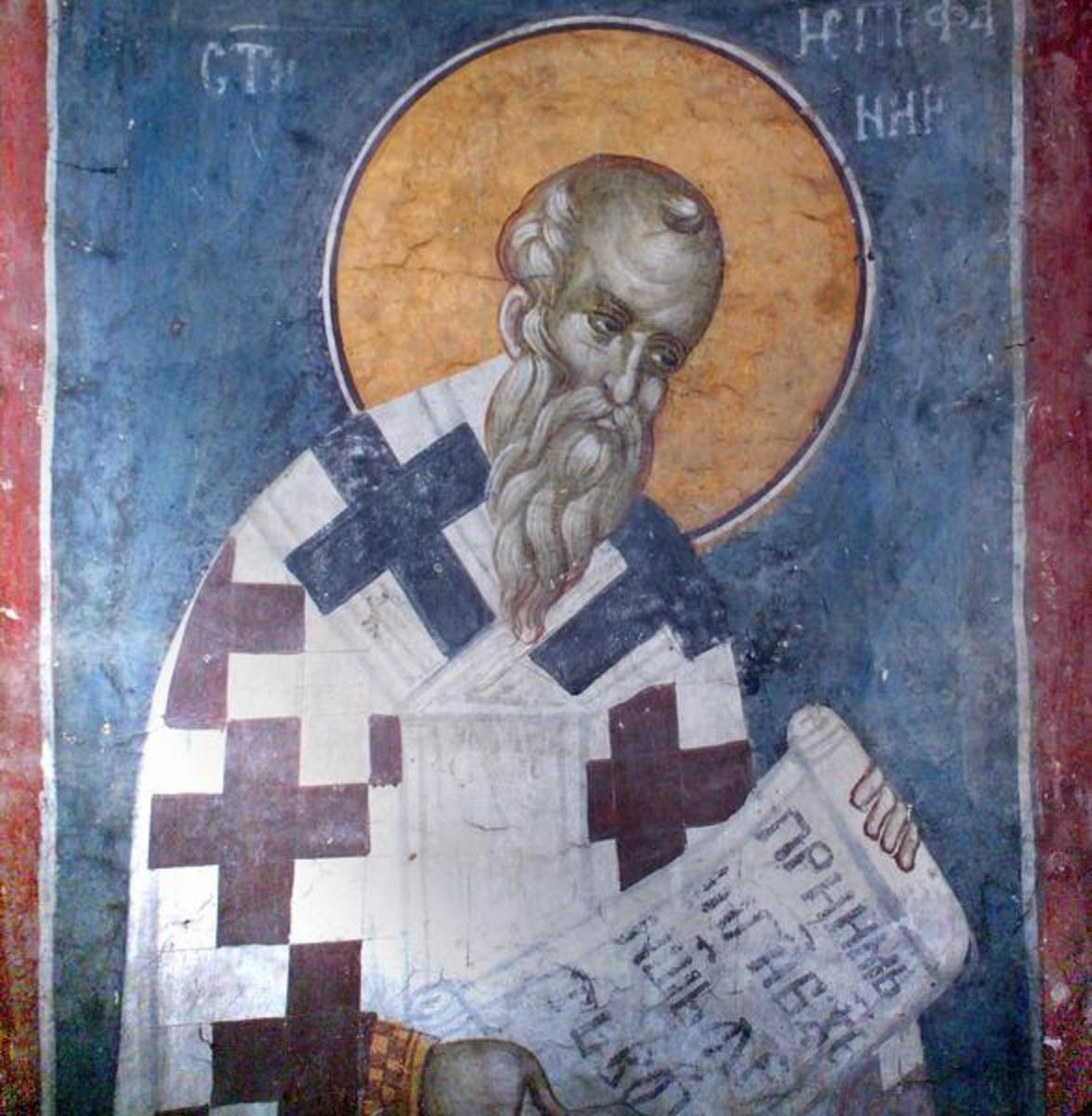 Epiphanius of Salamis was the only early church writer to discuss Mary's death, a subject he claimed no one knew anything about.