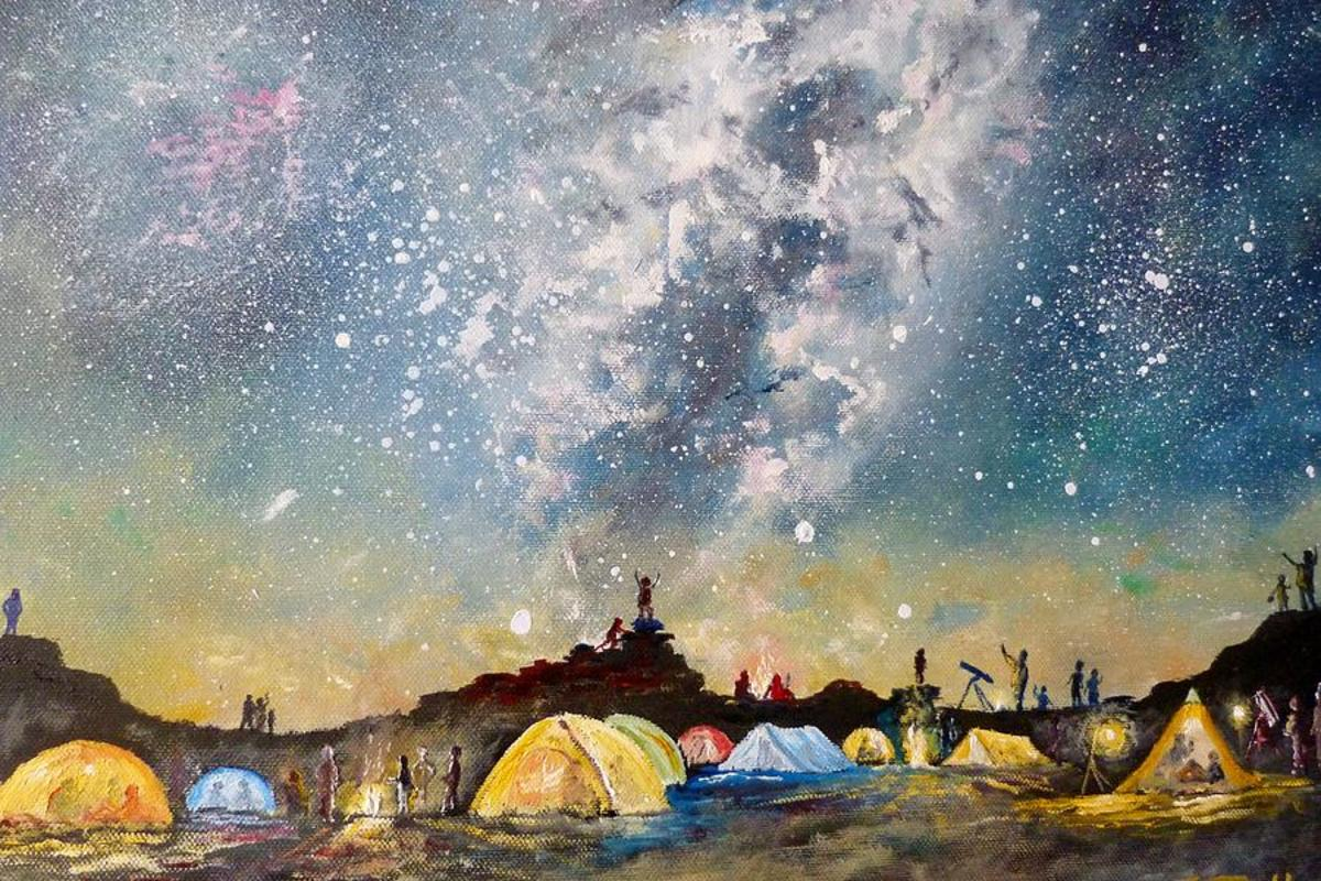 """Stargazing Campers"" by Joe Trodden"
