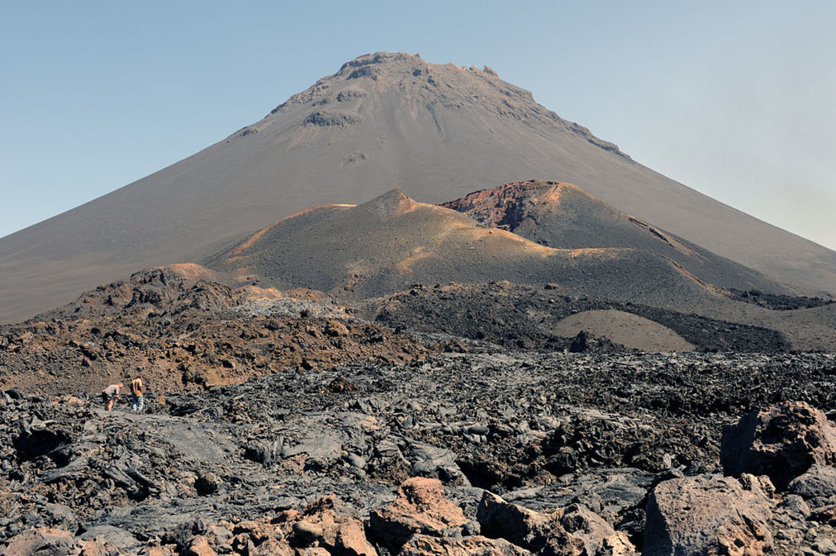 Mount Fogo (Pico do Fogo in Spanish) is the tallest and most active peak on the Cape Verde Islands. The last major eruption was in 1680, but a side vent came to life in 1995, causing evacuations but no fatalities.