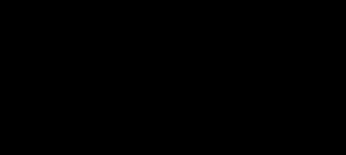 Skeletal formula of a galegine molecule