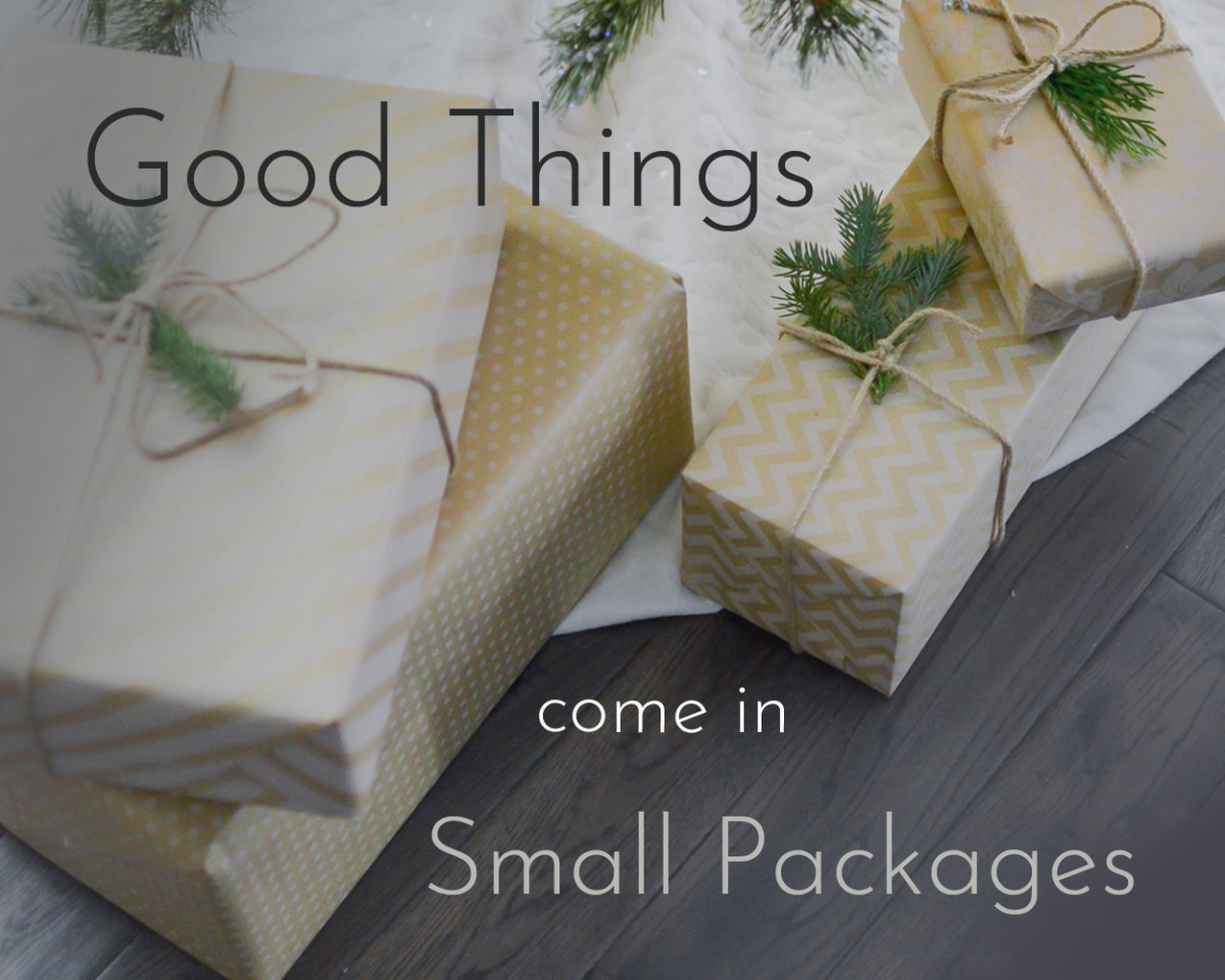 Do good things really come in small packages?