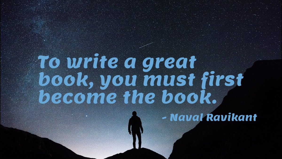 Quote from Naval Ravikant