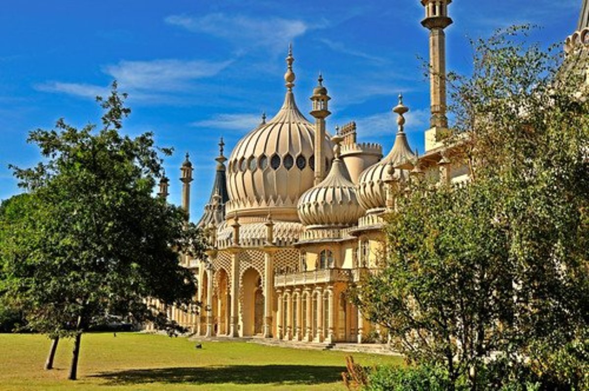 This elaborate confection is the Royal Pavilion in Brighton.