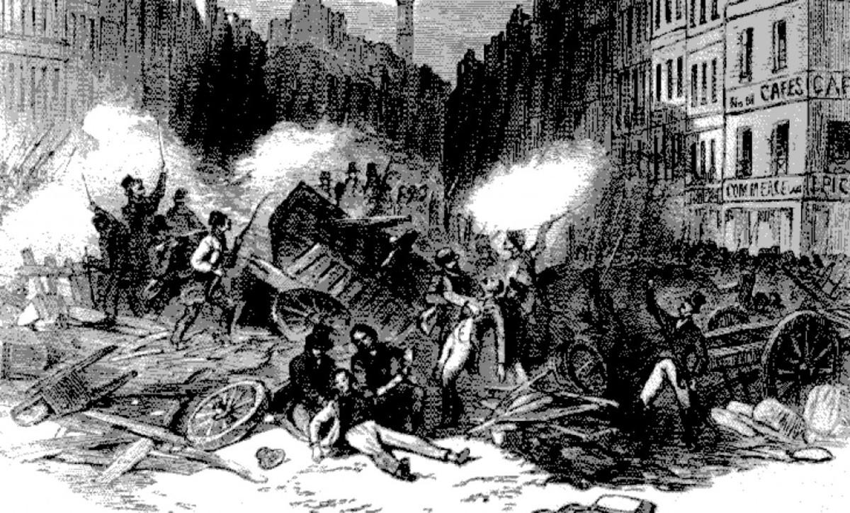 depiction of Louis Napoleon's 1851 self-coup