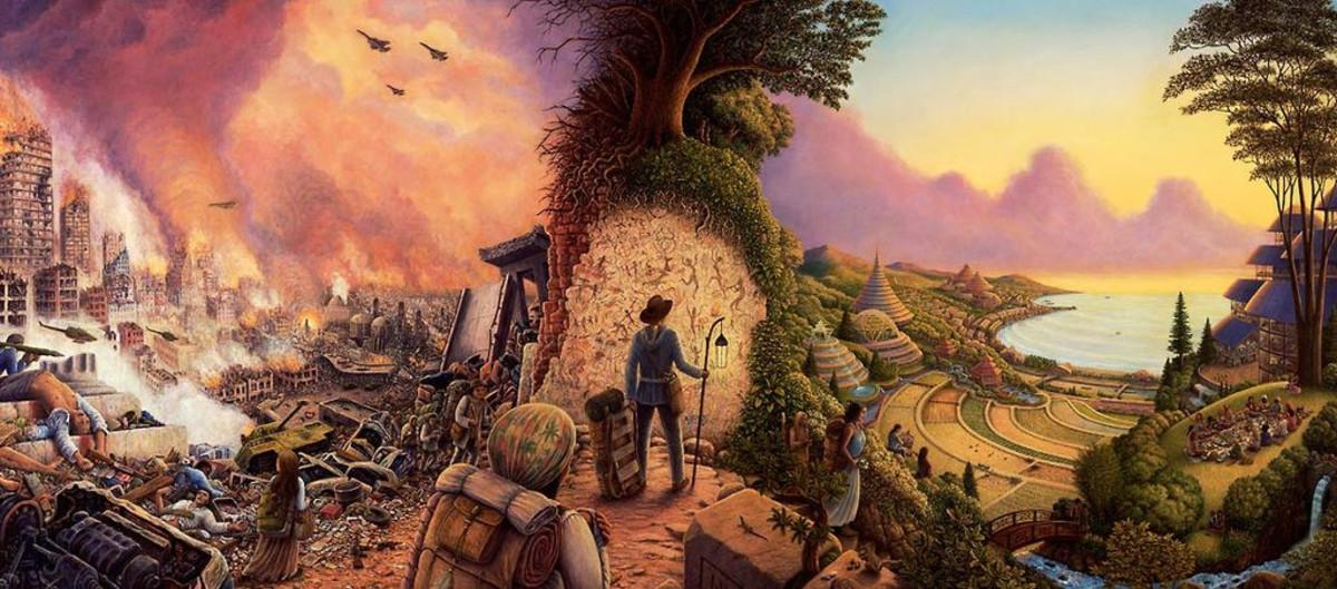 """New Pioneers"" by Mark Henson"
