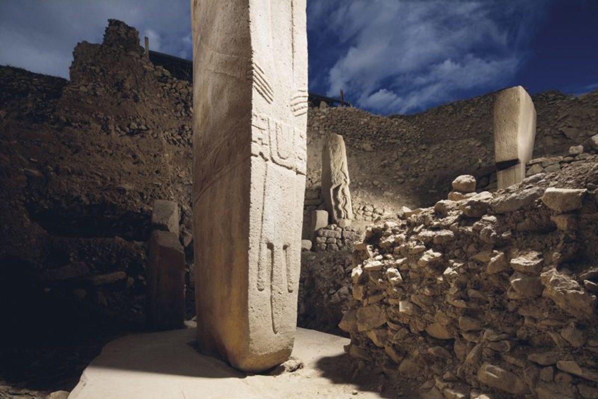 the megaliths at Göbekli Tepe