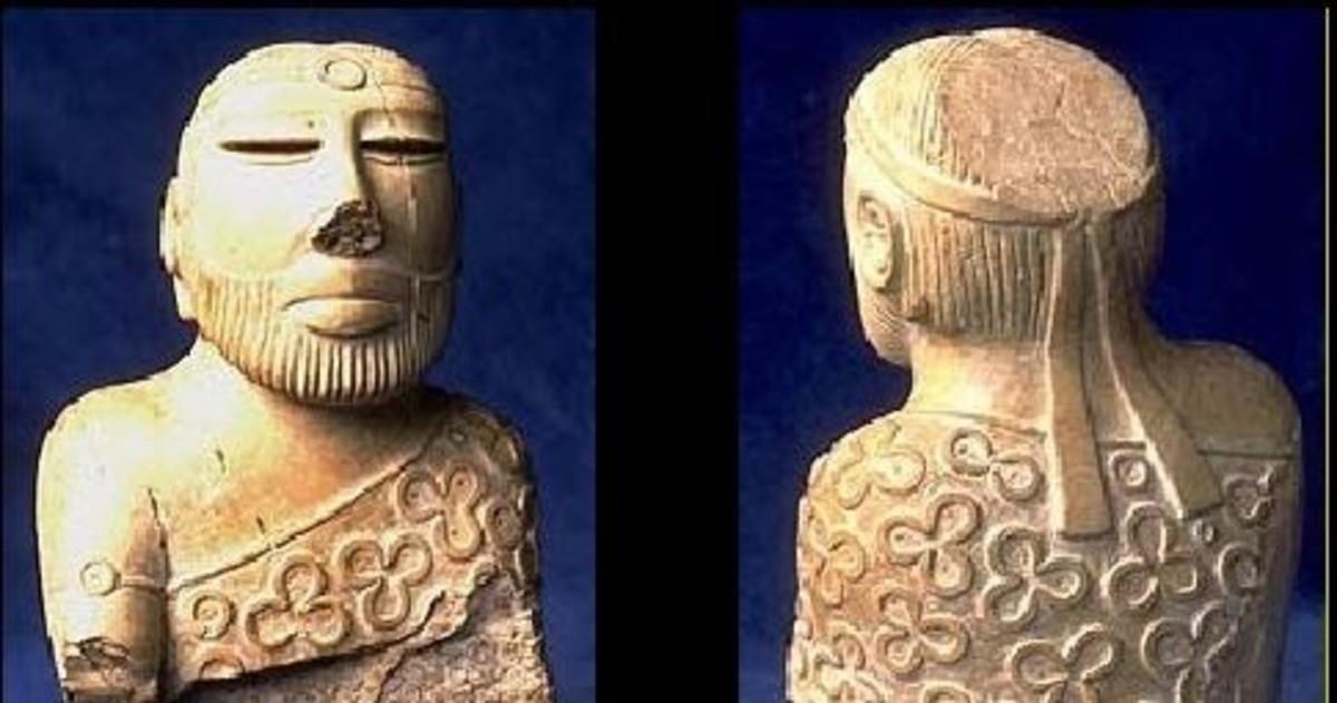 the Priest-King of Mohenjo-Daro