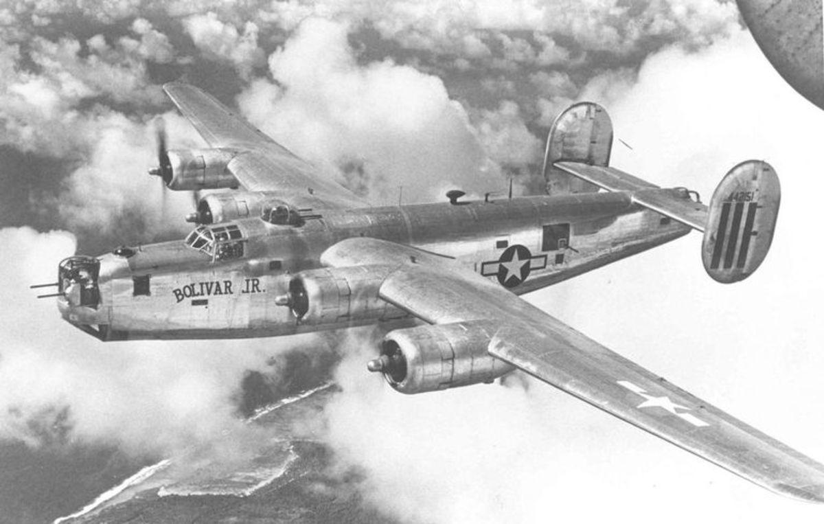 The B-24 Liberator.