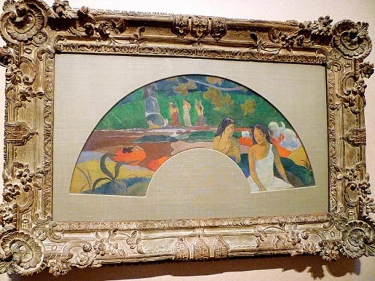 Arearea II by Paul Gauguin