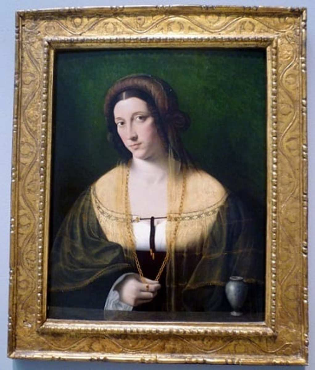 Portrait of a Woman by Bartolomeo Veneto