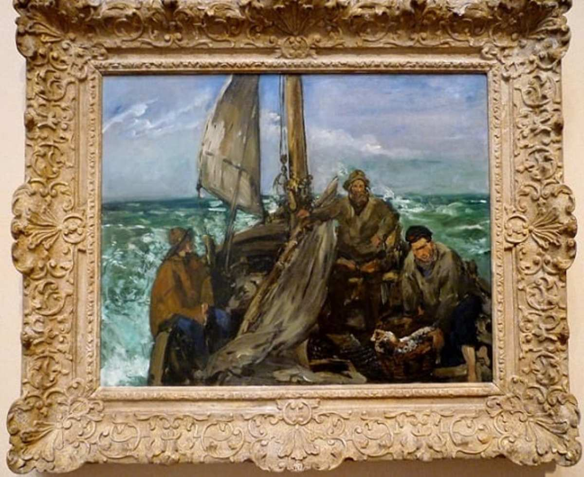 The Toilers of the Sea by Édouard Manet at the Museum of Fine Arts Houston