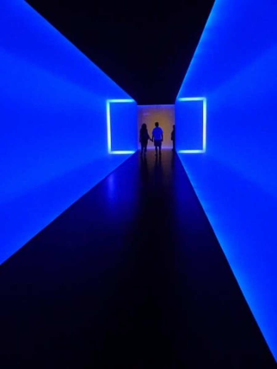 """""""The Light Inside"""" by James Turrell"""