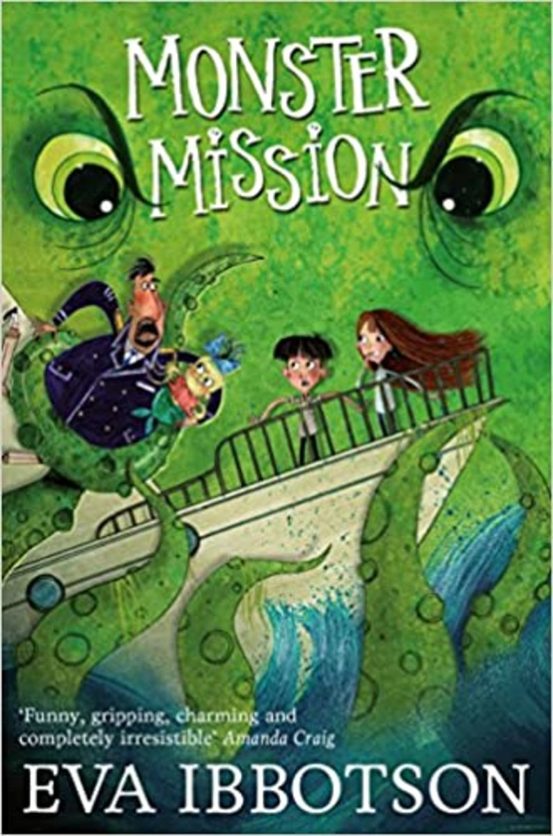 Monster Mission...or Which Witch...by Eva Ibbotson