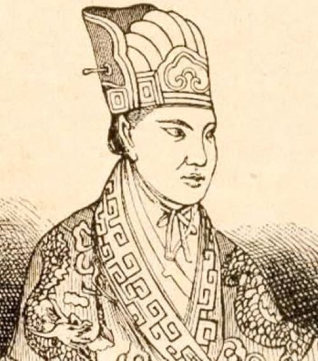 Pictured above is Hong Xiuquan, who served as leader of the Taiping rebels.