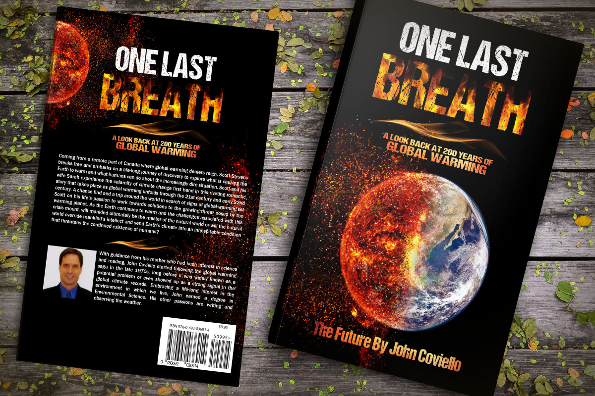 """Front and Back Covers of """"One Last Breath"""""""