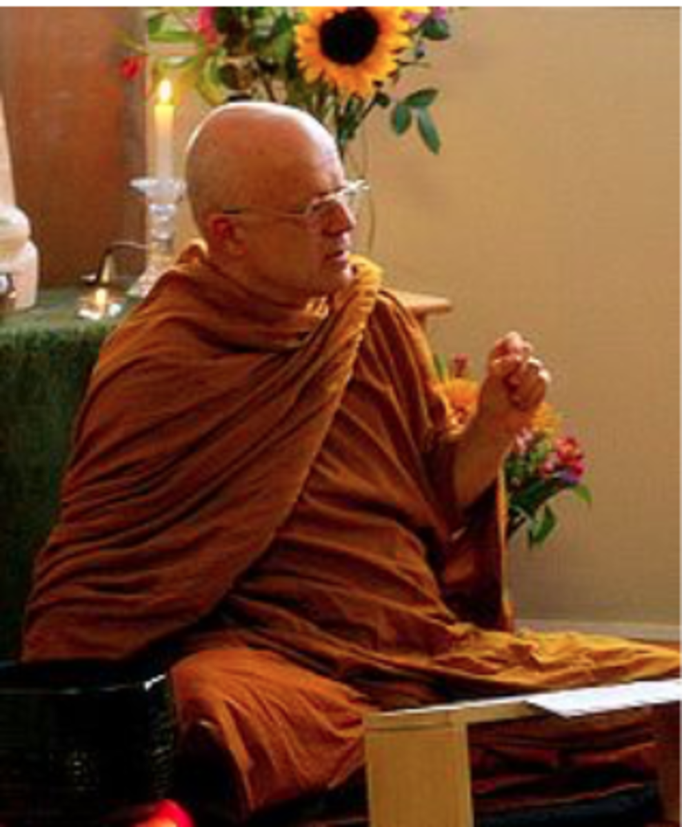 Ṭhānissaro Bhikkhu, a prominent Western monk of the Thai Forest Tradition.