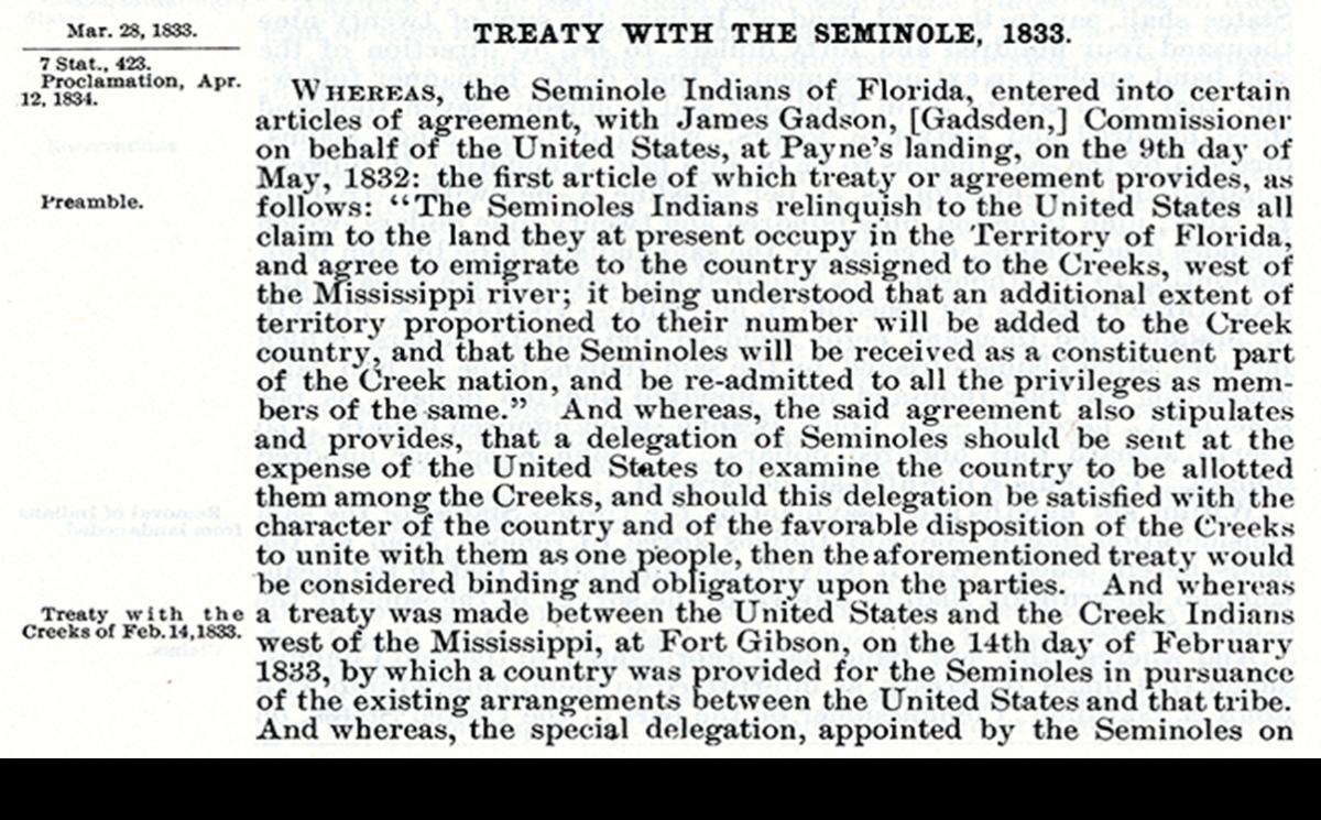 Treaty of Payne's Landing