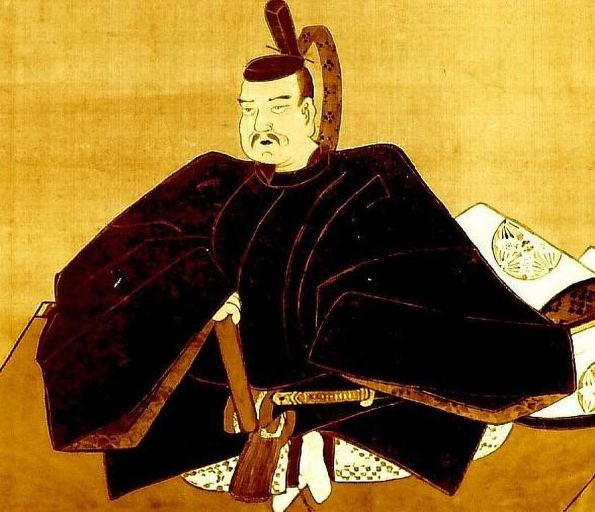 Historical depiction of Taira no Masakado. This Heian Era samurai, and rebel, is both feared and respected.