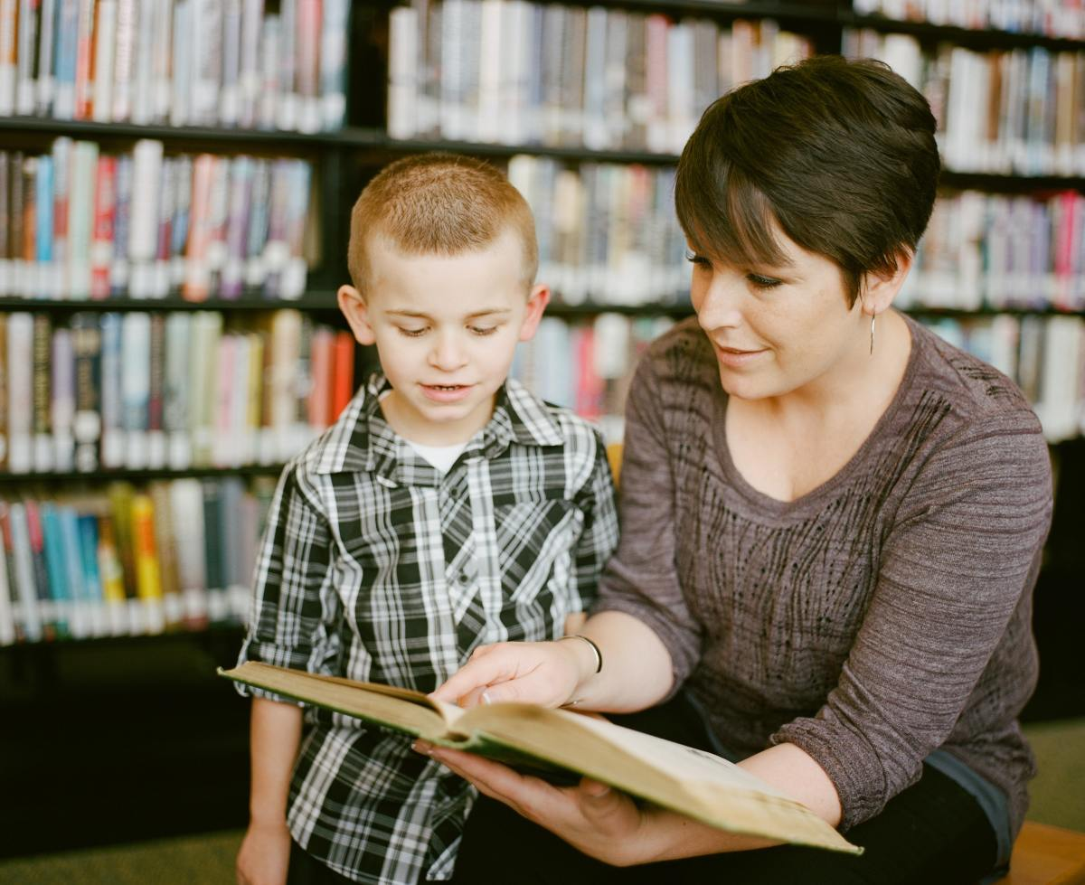 Introduce your ELLs' parents to their local libraries and teach them how to obtain a library card.