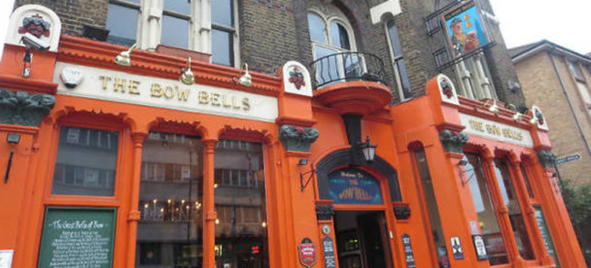 Bow Bells Pub. Bow Rd, East London.