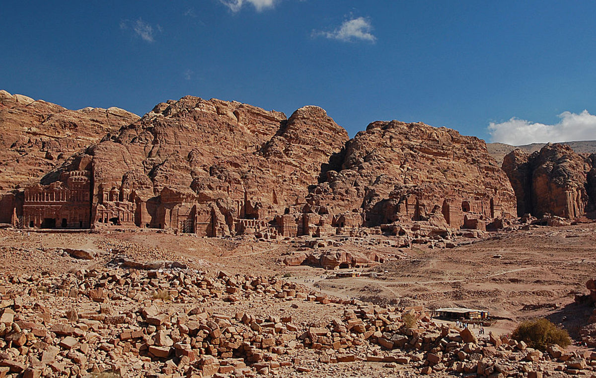 Royal tombs at Petra