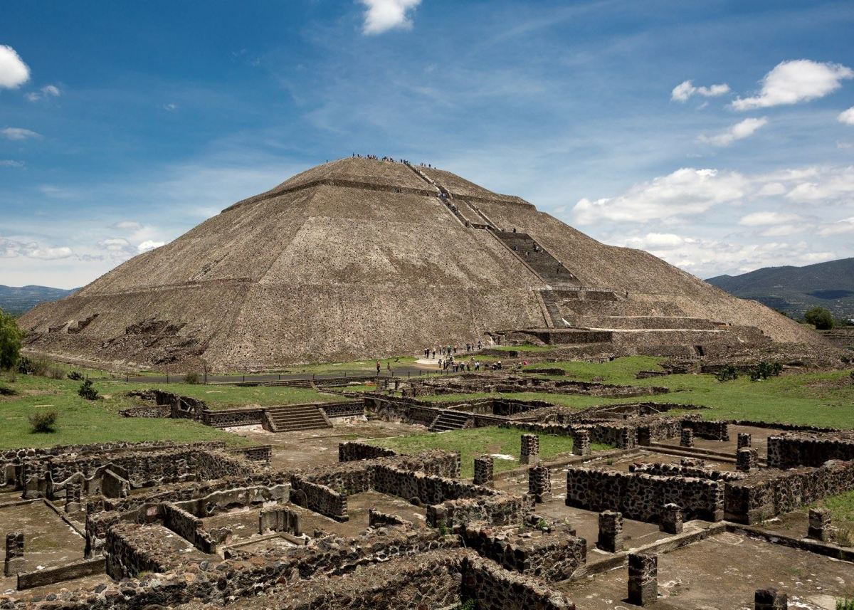 Pyramid of the Sun at Teotihuacán