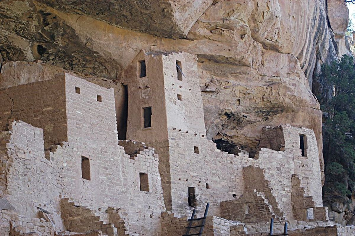 Close-up of Cliff Palace