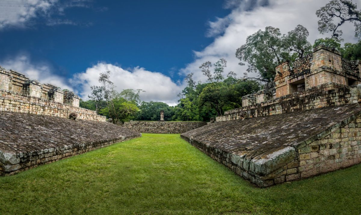West Court at Copán
