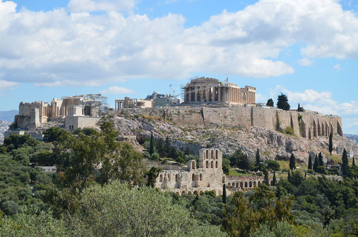 Acropolis of Athens today