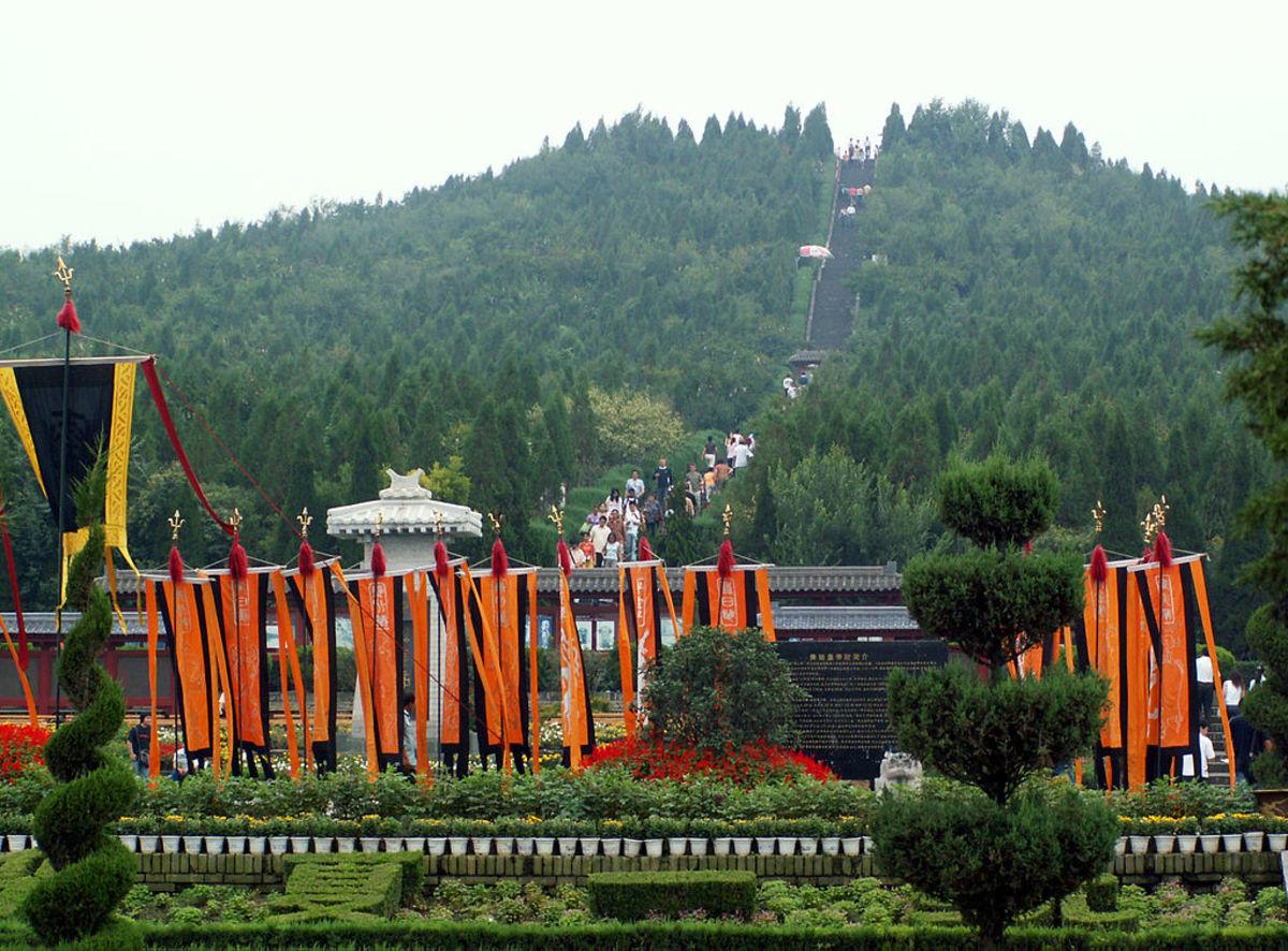 Tomb of Qin Shi Huangdi