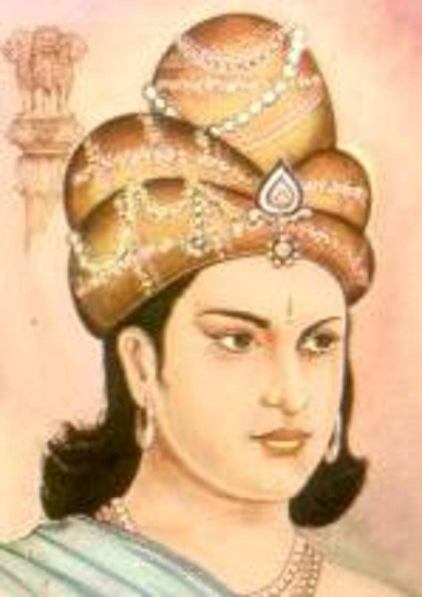 Ashoka the Great accomplished many things such as preaching/teaching Buddhism to the Mauryan Empire