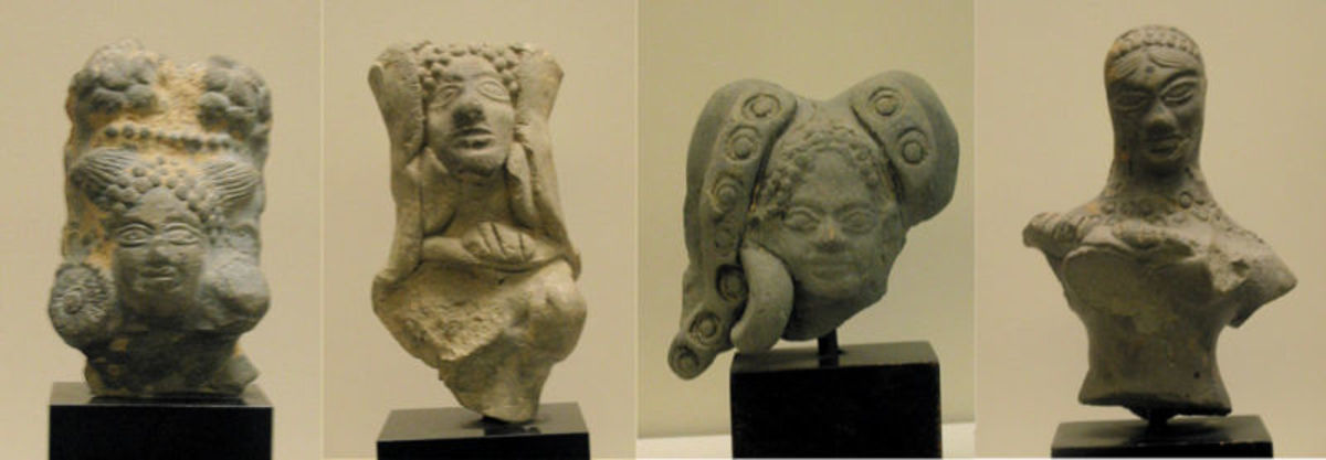 Statuettes from the Mauryan Era