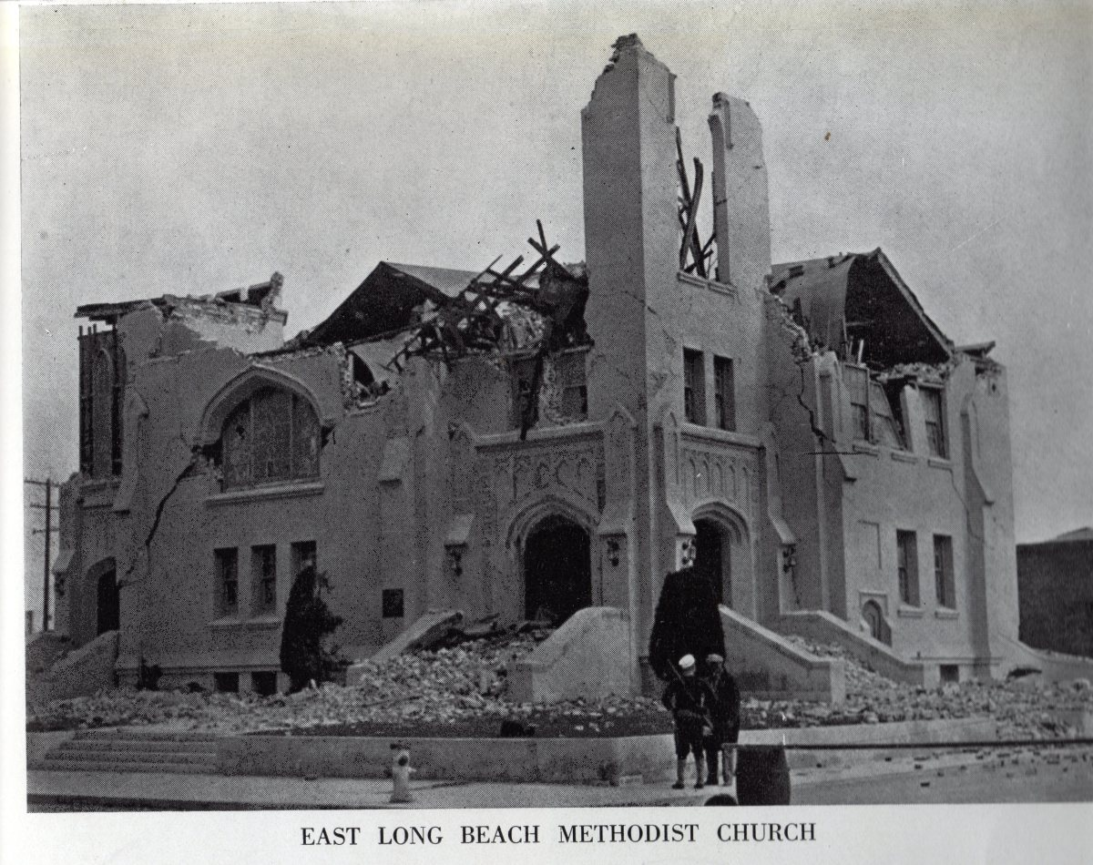 Long beach Methodist Church- 1933