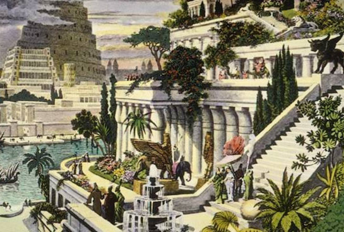 The Hanging Gardens of Babylon: One of the Seven Wonders of the Ancient World