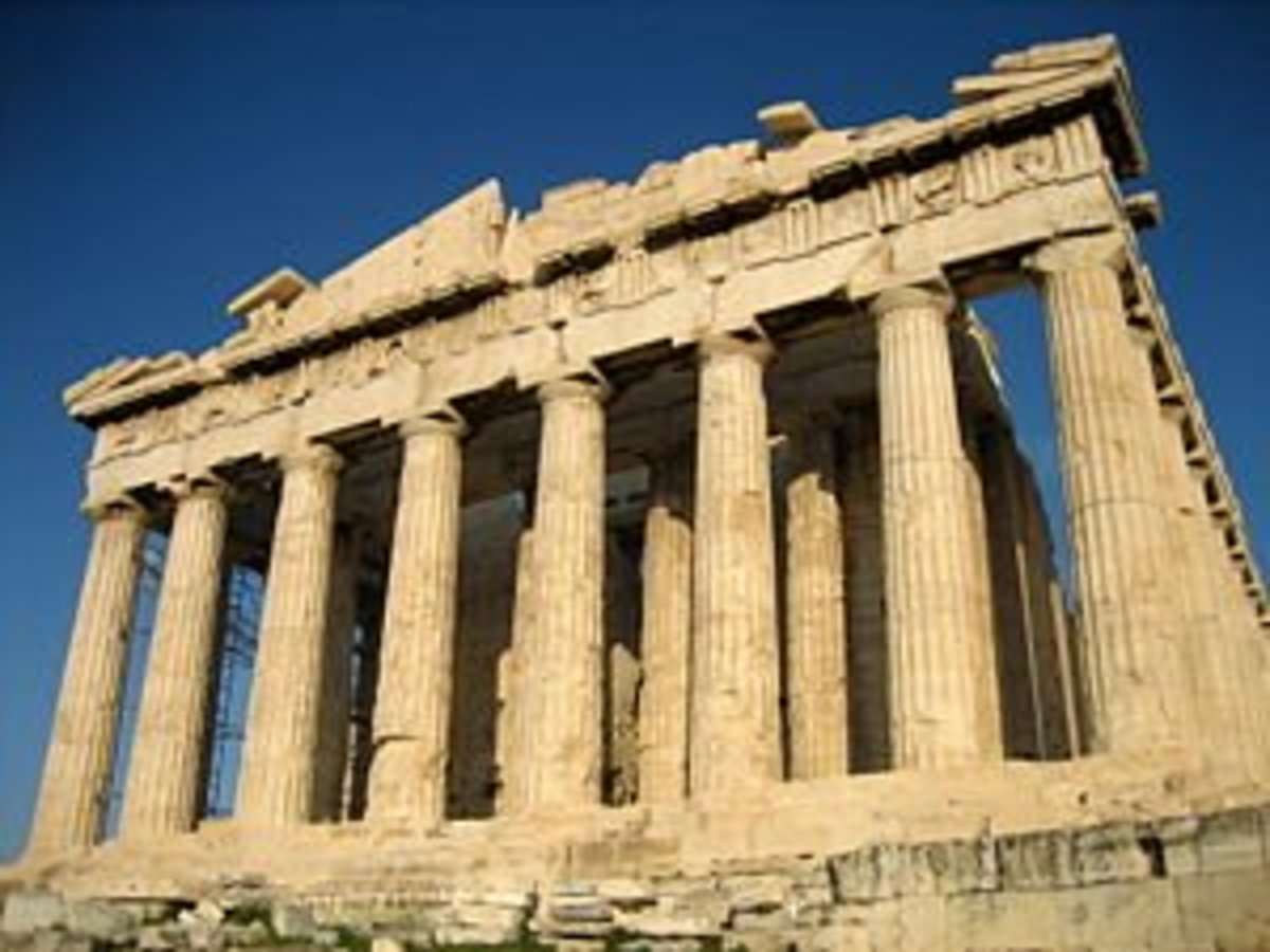 The Parthenon, a symbol of Classic Greek civilization