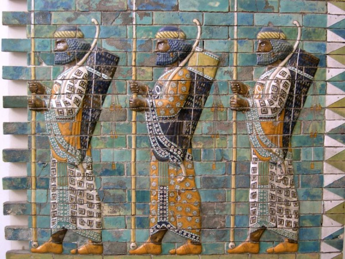 Persian archers at the time of Darius