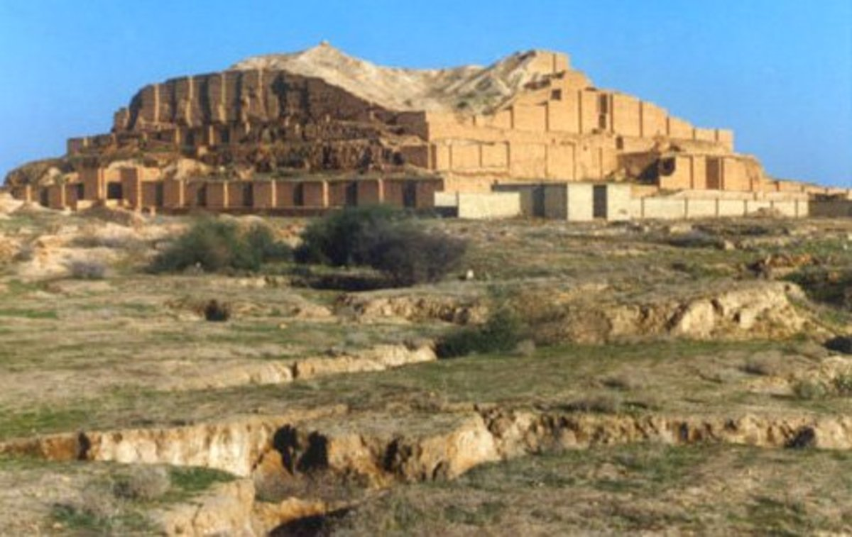 Chogha Zanbil, one of the best preserved ziggurats
