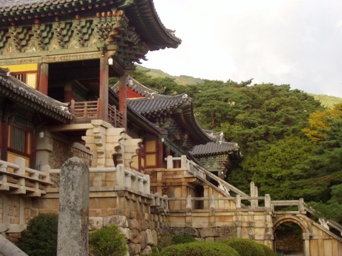 Bulguksa Temple in Korea