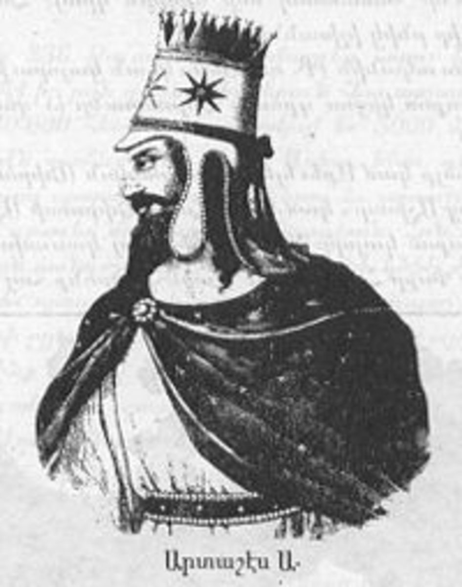 Artaxias, founder of Armenian Kingdom