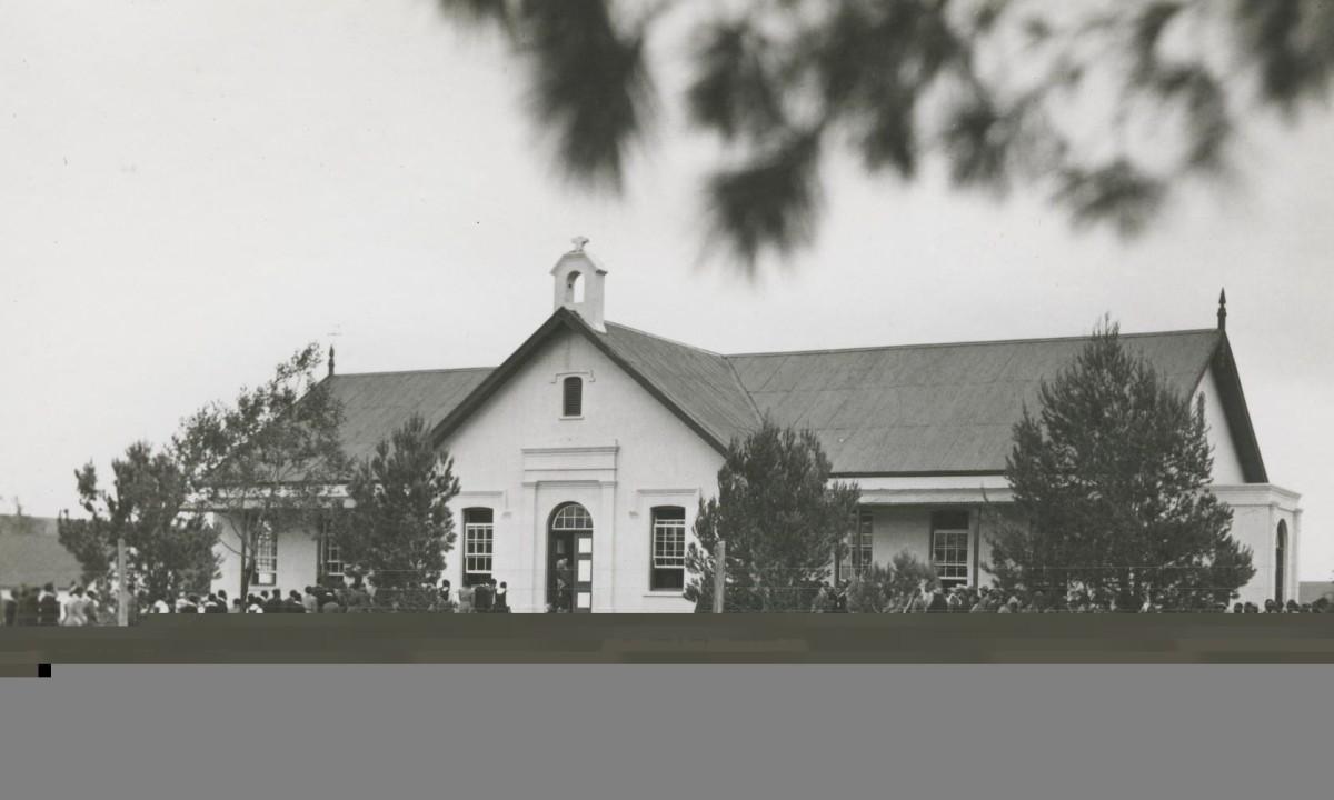 The church hall